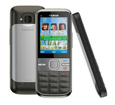 Nokia C5 - 00  grey Unlocked mobile phone works all GSM  networks new other