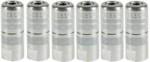 4-Backen-Präzisions-Hydraulik-Mundstücke Fettpresse/Schmiernippel H-Nippel M10x1