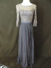 Kay Unger Formal Dress Sz. 6 Navy