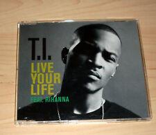 CD Maxi-Single - T.I. - Live your Life feat. Rihanna