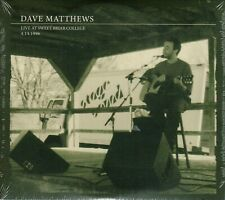 Dave Matthews ( Band ) * Solo ! * Live at Sweet Briar College 4.14.1996  2-CD