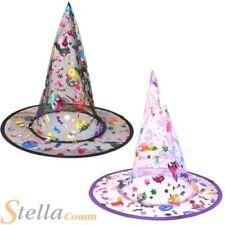 Sombreros, gorros y cascos brujas de poliéster para disfraces y ropa de época