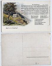 18698 Lied AK Erzgebirge SCHREYER Dar Vuglbärbaam! Der Vogelbeerbaum um 1914