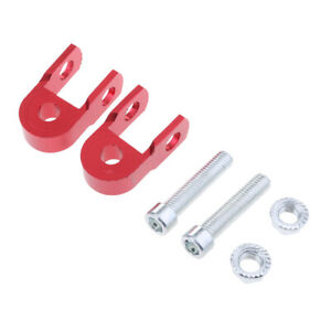 Height Extender Shock Absorber Motorcycle   Up Riser Suspension 10mm Hole