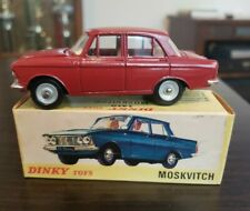 1/43 ATLAS DINKY TOYS 1410 MOSKVITCH 408 ALLOY DIECAST CAR MODEL with BOX