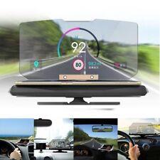Auto Head Up Display OBD 2 II Universal LCD HUD Geschwindigkeit Alarm System @4