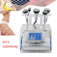 New 5in1 Cavitation Vacuum Bipolar RF Laser Slimm Fat Wrinkle Removal machine