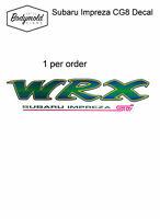 Subaru IMPREZA GC8 WRX  1990,s replacement decal