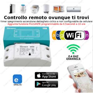 Interruttore Alimentatore DOMOTICA Telecomando Per iOS Android  Wifi Wireless