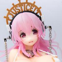 Super Sonico Libra Girl Hard/Soft Chest Model 1/7 Scale PVC Anime Figur Figuren