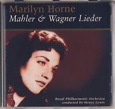 Mahler & Wagner - Marilyn Horne: Lieder (BELART) Like New