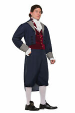 Adult Jefferson Costume Colonial Hamilton Cosplay Founding Fathers Size Standard