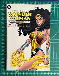 Wonder Woman Lifelines DC Graphic Novel TPB Comic Book John Byrne