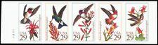 2646aPi, MNH XF Imperforate Pane of Five Bird Stamps Proof - Stuart Katz