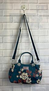 🍄 CATH KIDSTON 🍄 Jade Crescent Rose Floral Matt Oilcloth Bag.