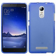 Funda TPU Mate Lisa para Xiaomi Redmi Note 3 / Pro Silicona Azul