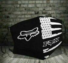 Flag American Logo Fox Racing Face Mask
