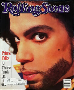 PRINCE - ROLLING STONE MAGAZINE - COVER STORY - OCTOBER 18TH, 1990