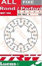 Disque de frein Avant TRW Lucas MST396  Piaggio LXV 50 C38 2007-2009