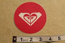 ROXY Girls Heart Snow Skate Surf Quicksilver Vintage Surfing Decal STICKER