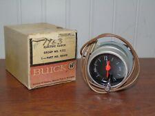 NOS 1963 BUICK ELECTRIC DASH CLOCK w/ORIG BOX # 980498 GROUP #9.722 VINTAGE