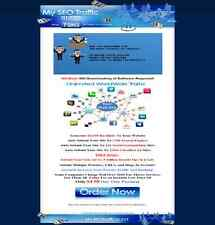 Fully Hosted SEO Backlinks Traffic Campaign Website - Fantastic Deal!