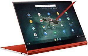 "NEW Samsung Galaxy Chromebook 13.3"" 4K AMOLED (8GB/256GB SSD, Intel i5) Pen Red"