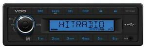 VDO TR711U-BU - MP3-Autoradio mit USB / AUX-IN