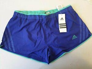 Womens Adidas Supernova Running Shorts Blue Z00546 UK 8 10 12 14 Climacool (JJ)