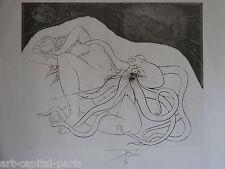 TREMOIS PIERRE YVES GRAVURE 1974 SIGNÉE AU CRAYON NUM/65 HANDSIGNED NUMB ETCHING