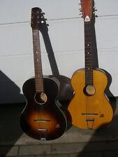 Zwei Framus Gitarren (7) Vintage, Parlorgitarre, Bluesgitarre, Wandergitarre