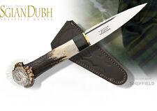 Couteau Scottish Dirk Sheffield Sgian Dhu Crown Stag Chevreuil England SHE021