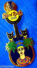 New listing Myrtle Beach Egyptian Pharaoh & Bastet Cat Goddess Guitar Hard Rock Cafe Pin Le
