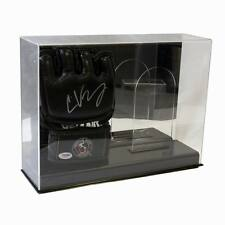 DOUBLE UFC MMA FIGHTING GLOVE DELUXE ACRYLIC DISPLAY CASE w/ Mirror Back #AD100