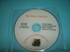 Rare Silent Film - She (1925) Betty Blythe, Carlyle Blackwell, Mary Odette