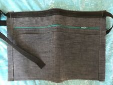 Denim money belt , Market trader , adjustable size belt Brand New