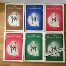 The Chesterton Reviews lot of 6 1992,1993,1994