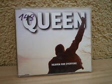 Maxi CD QUEEN Heaven for everyone Made in NL Holland Freddie Mercury 1-1-16-NL !