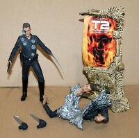 McFarlane T2 Terminator 2 Judgment Day T-1000 Action Figure Figur Movie Maniacs