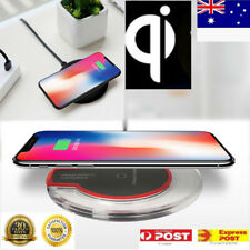 QI Wireless Charger Charging Pad Mat Receiver for iPhone X Plus Samsung S8 S9+
