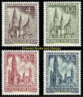 EBS Berlin 1953 Kaiser Wilhelm Memorial Church Michel 106-109 MNH** cv $40