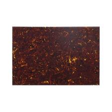 4Ply Guitar Bass Pickguard Blank Sheet Material Red-Brown Tortoise Shell 29x43cm