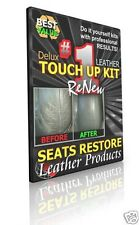 SUBARU SVX - CHARCOAL Leather Seat Cover Color TOUCH UP KITS - SEATS RESTORE
