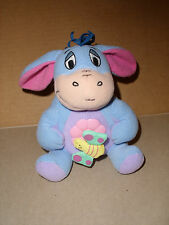 2007 MATTEL FISHER PRICE STUFFED PLUSH VIBRATING SHAKING EEYORE TOY 6 IN