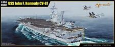 Merit 65306 1/350 USS CV-67 John F. Kennedy Aircraft Carrier