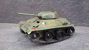 Vintage Rare Germany Military Tin Toy Tank Ms Brandenburg