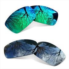 COMBO Lentes Polarizadas para Oakley Holbrook ( Black Iridium+Sapphire Green)