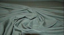 Hemp Spandex Jersey Knit Eco-Friendly Fabric by the Yard Made in USA Moss Green
