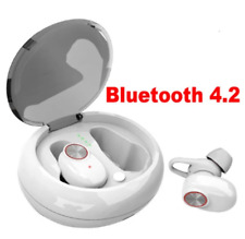 Dual Bluetooth 5.0 Headset Earphone Wireless Earbud with Handsfree Stereo Music