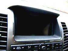 D Nissan Navara D40 Pathfinder Chrom Rahmen für Navi - Edelstahl poliert